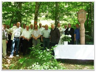 Dankgottesdienst am Bildstock 2011